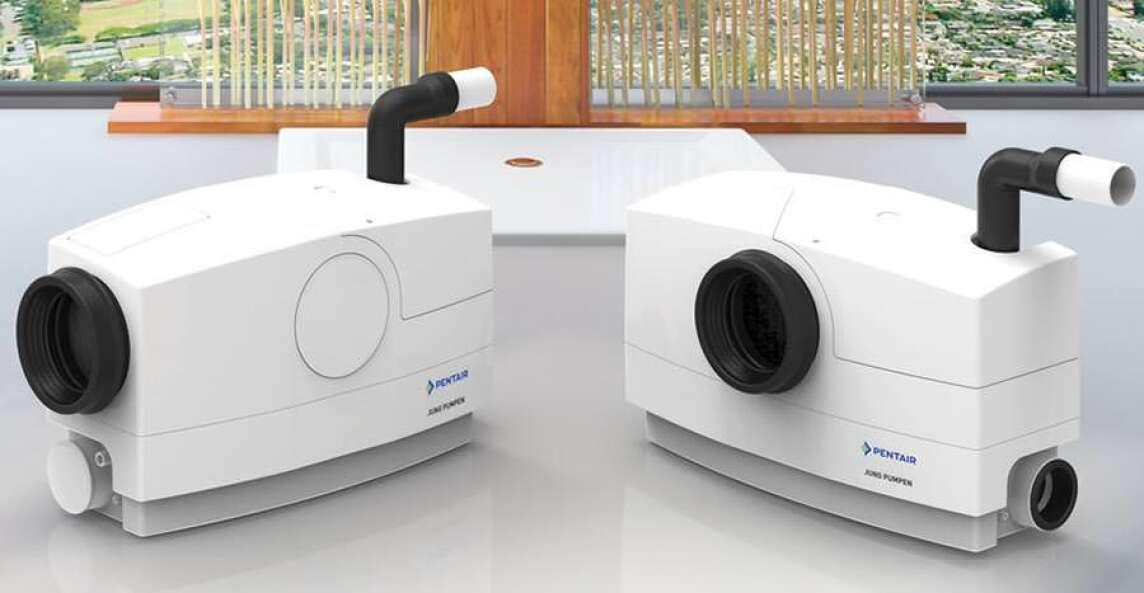 neue kleine hebeanlage zur begrenzten verwendung von pentair jung pumpen. Black Bedroom Furniture Sets. Home Design Ideas