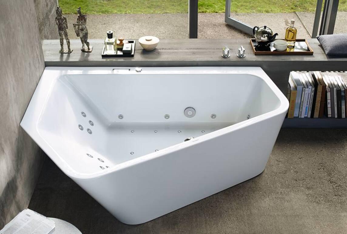 Paiova 5: Zwei-in-Eins- bzw. Eine-für-Zwei-Badewanne neu von Duravit