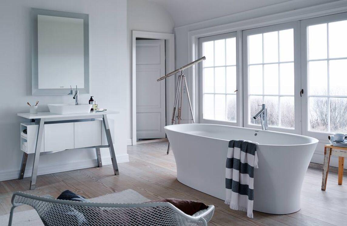 mit cape cod wollen duravit und starck die natur ins bad bringen. Black Bedroom Furniture Sets. Home Design Ideas