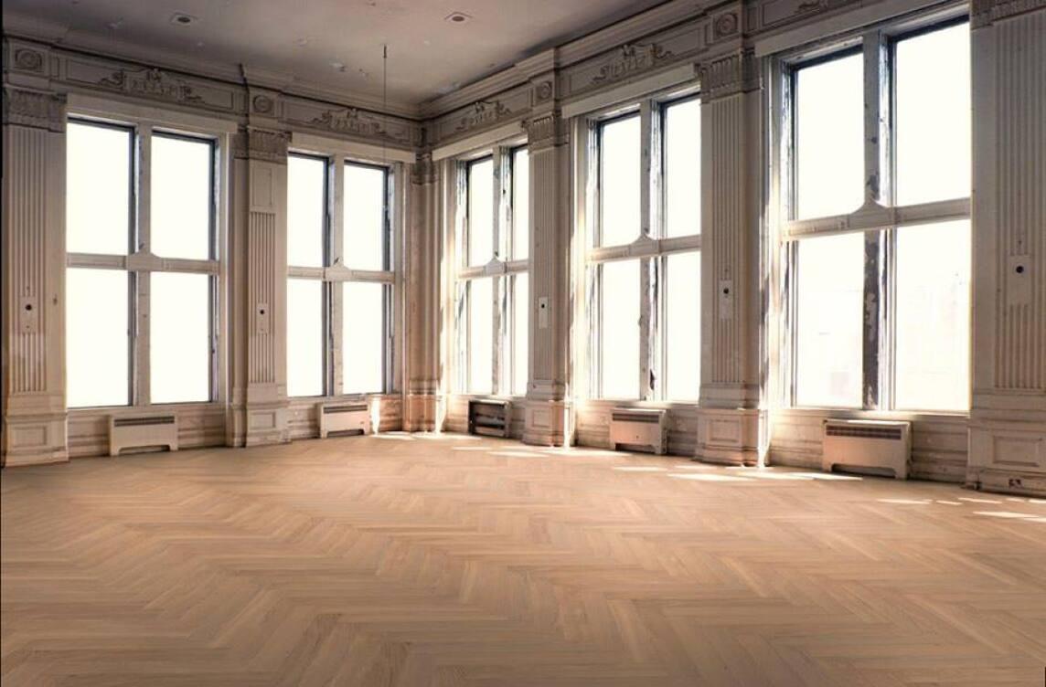 Fußboden Weiß Xl ~ Renaissance des fischgrät parketts von hain xl mäßig und