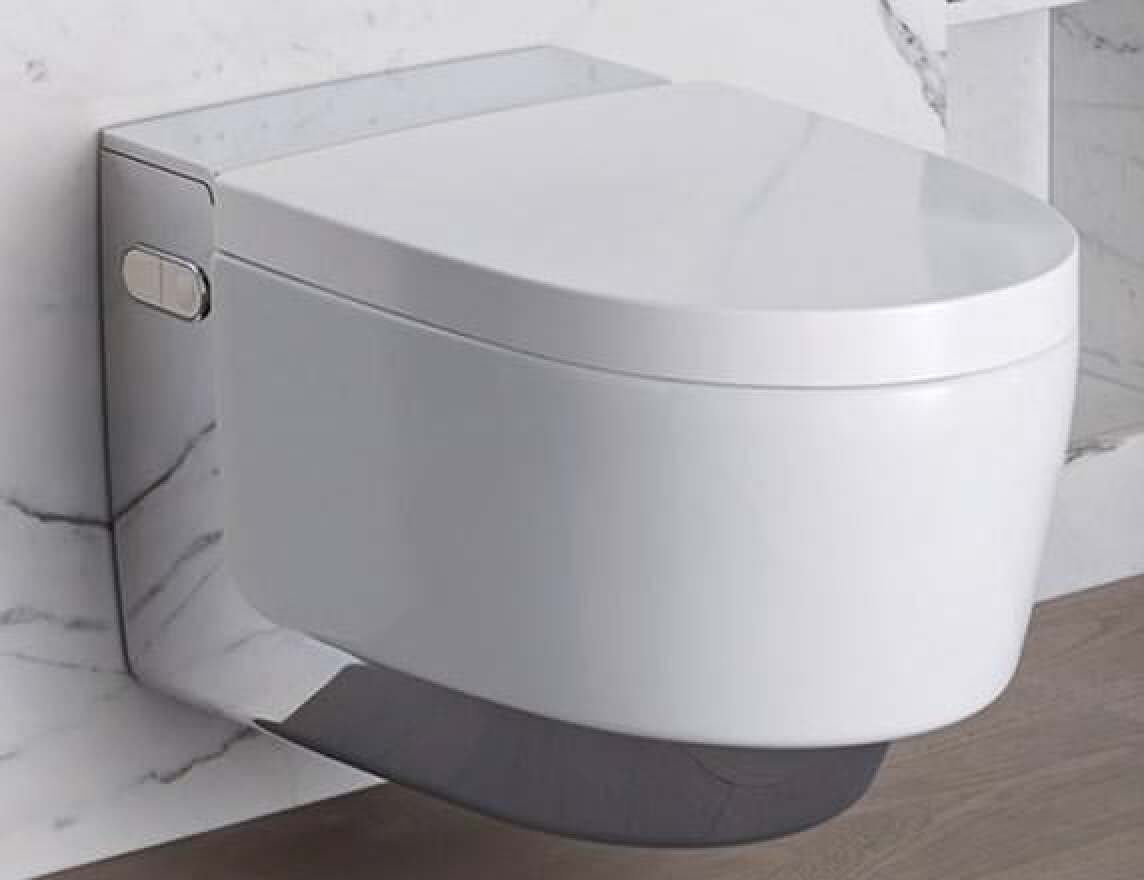 geberit aquaclean mera neue sp lrandlose dusch wc generation mit whirlspray. Black Bedroom Furniture Sets. Home Design Ideas