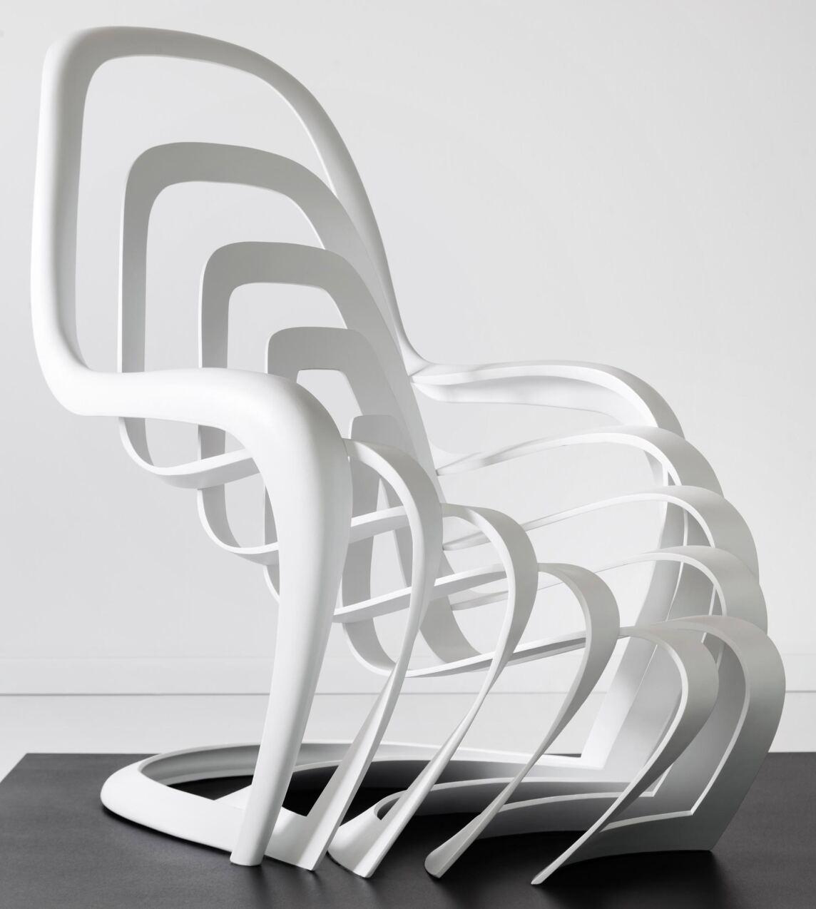 architekten kreativwettwerb rund um den panton chair entschieden. Black Bedroom Furniture Sets. Home Design Ideas
