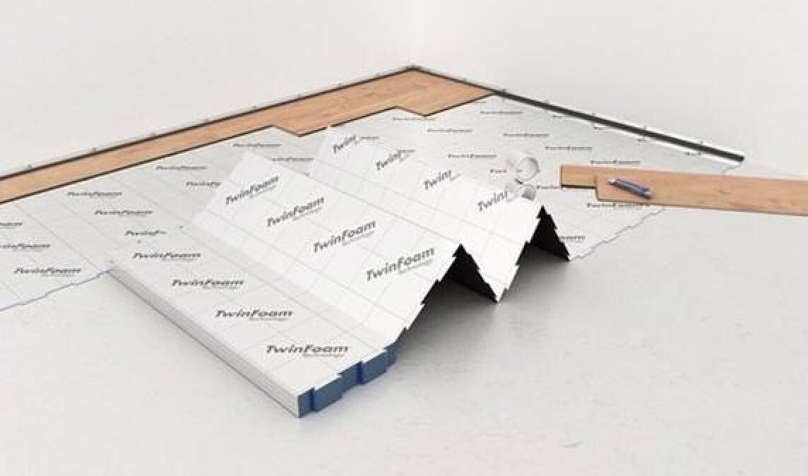 Fußbodenunterlage ~ Selitpro 2 2 mm: neue fußboden unterlage mit hybridem aufbau incl