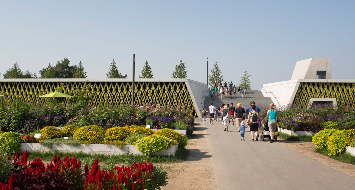 Deichgärten in Deggendorf - Landesgartenschau