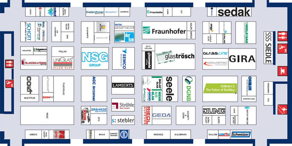 Belegungsplan der Halle C2