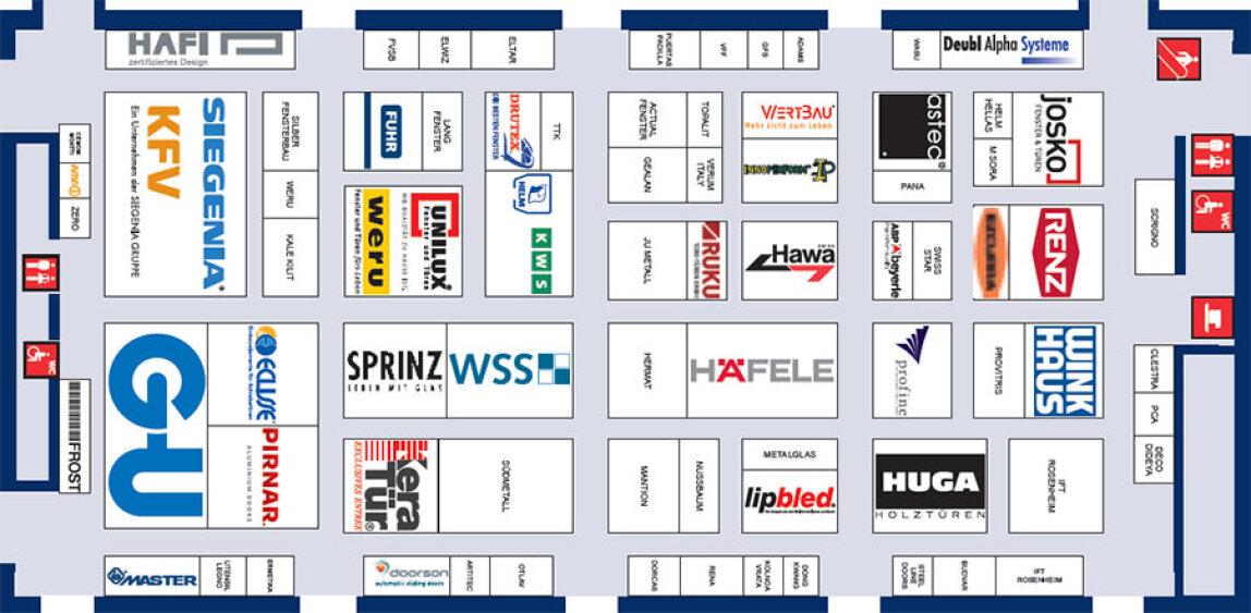 Belegungsplan der Halle C4