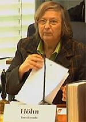 Ausschuss-Vorsitzende Bärbel Höhn