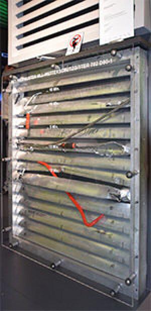 RC3 geprüfte Wetterschutzgitter