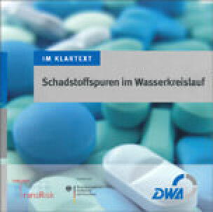 """Titel:  Informationsbroschüre """"Schadstoffspuren im Wasserkreislauf"""""""