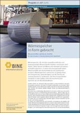 "BINE-Projektinfo ""Wärmespeicher in Form gebracht"" (07/2015)"