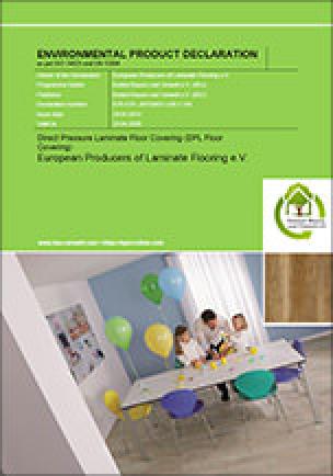 EPD-Cover für Direct Pressure Laminate Floor Covering