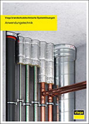 """achbroschüre """"Viega brandschutztechnische Systemlösungen"""""""