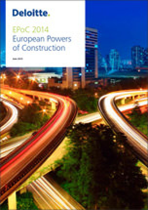 """European Powers of Construction""-Report 2014"