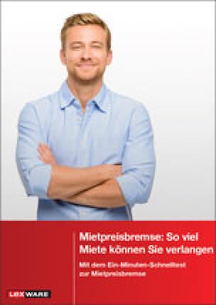 """Kostenloses E-Book: """"Mietpreisbremse: So viel Miete können Sie verlangen"""""""