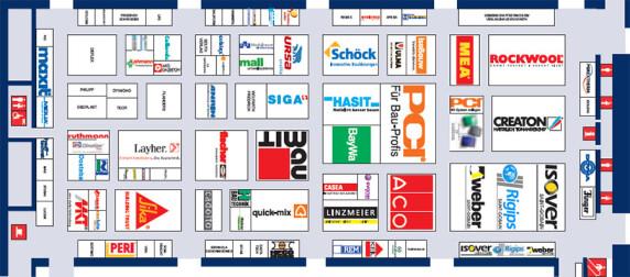 Belegungsplan der Halle A1