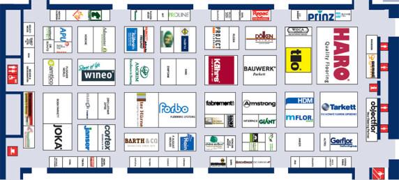Belegungsplan der Halle A5
