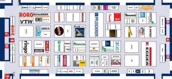 Belegungsplan der Halle B5