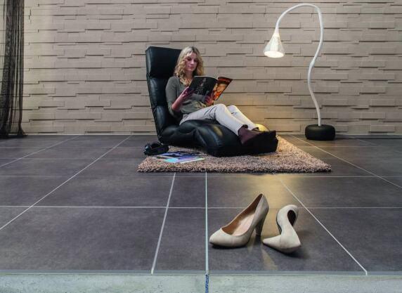 pci system gleichm iges fugenbild erlaubt das berfliesen von bewegungsfugen. Black Bedroom Furniture Sets. Home Design Ideas