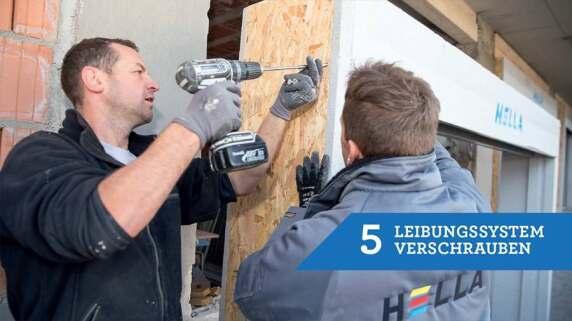 5/18 - Einbau eines Fensters mit TRAV®frame in 18 Schritten
