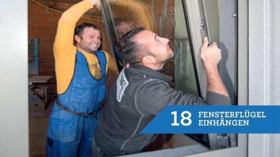 18/18 - Einbau eines Fensters mit TRAV®frame in 18 Schritten