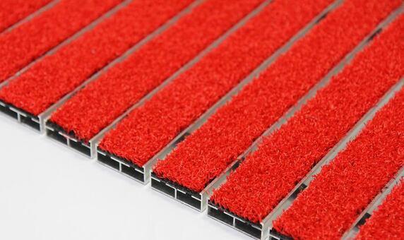 eingangsmatten wie ein roter teppich f r den un berdachten au enbereich senator outdoor von. Black Bedroom Furniture Sets. Home Design Ideas