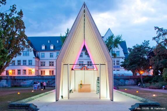 Event / Messen: Lichtkirche der EKHN (raum-z architekten) Foto: EKHN - M. Hartmann