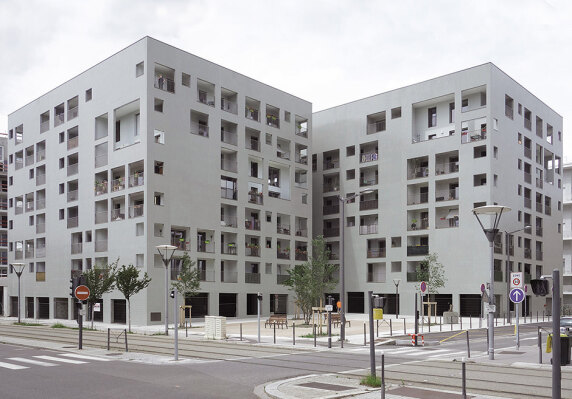 85 dwellings in Lyon vom Éric Lapierre Architecture <br/> Foto: N.N.