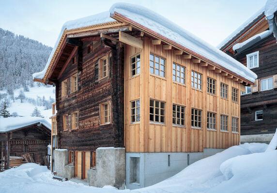 Heidenhaus in Münster von Roman Hutter Architektur GmbH <br/>  Foto: Markus Käch