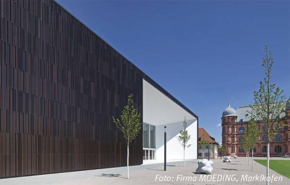 Multimediakomplex MUT, Hochschule für Musik (Karlsruhe) von Architekten.3P <br/>Foto: Firma Moeding (Inhaber Bildrechte)