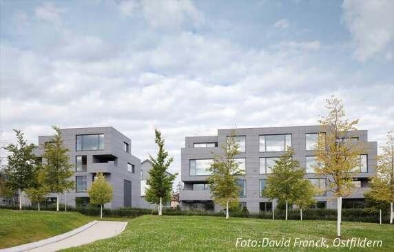 Wohnhäuser BF 30 (Stuttgart) von Bottega + Ehrhardt Architekten GmbH <br/>Foto: David Franck