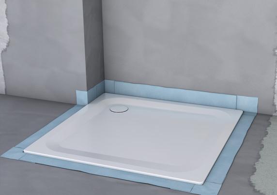 neues abdichtungssystem von bette als zweite verteidigungslinie im bad bettedichtsystem. Black Bedroom Furniture Sets. Home Design Ideas