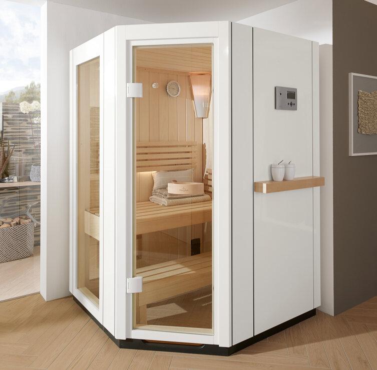 Villeroy & Boch integriert die Sauna ins Badkonzept