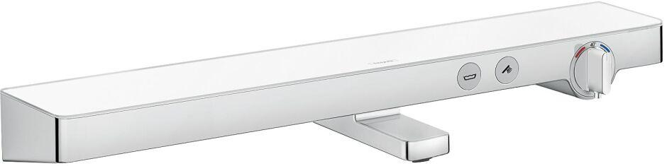 2in1: Hansgrohe kombiniert 70 cm Glas-Ablage mit smarter ...   {Grohe armaturen dusche 80}