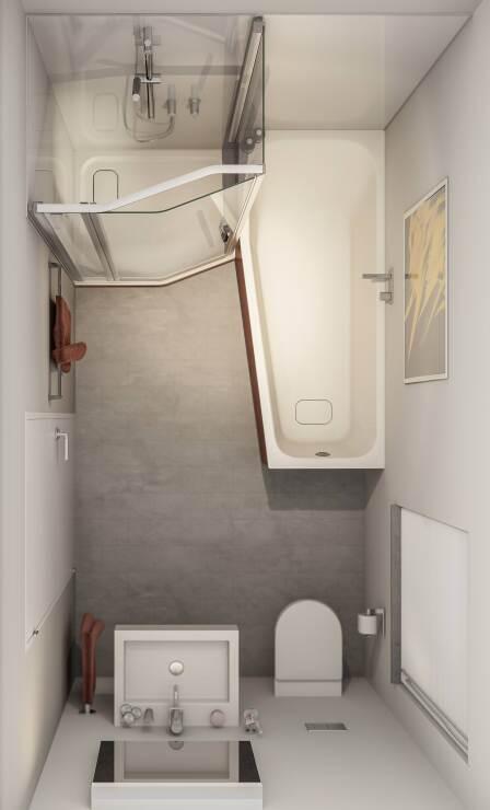 duscholux hat das piccolo ausstattungskonzept f r kleine b der aufgefrischt. Black Bedroom Furniture Sets. Home Design Ideas