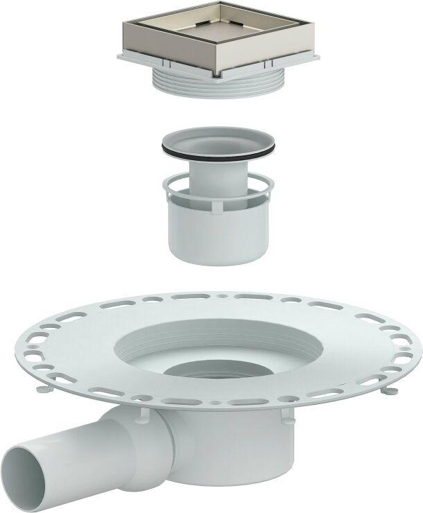 tistostone duschablauf la dallmer f r durchgehend geflieste duschbereiche. Black Bedroom Furniture Sets. Home Design Ideas