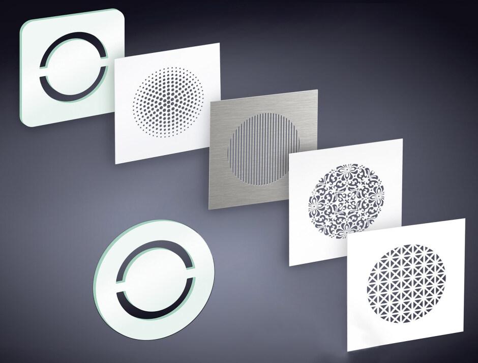 l ftungsgitter u a aus glas von sieger design f r 39 s fr nkische profi air programm. Black Bedroom Furniture Sets. Home Design Ideas