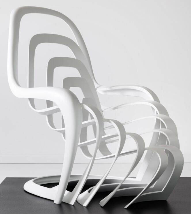 Architekten kreativwettwerb rund um den panton chair for Vitra karlsruhe