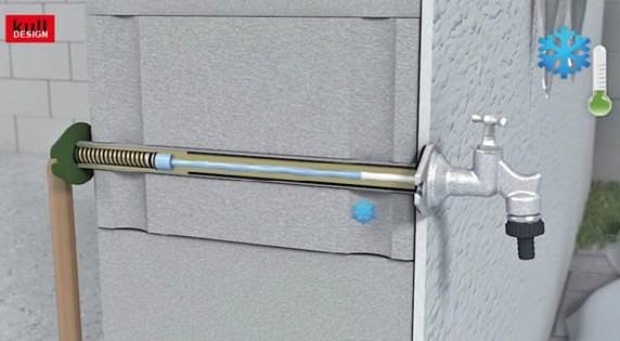 Frostsicherer Au 223 Enwasserhahn Mit Volumenkompensator