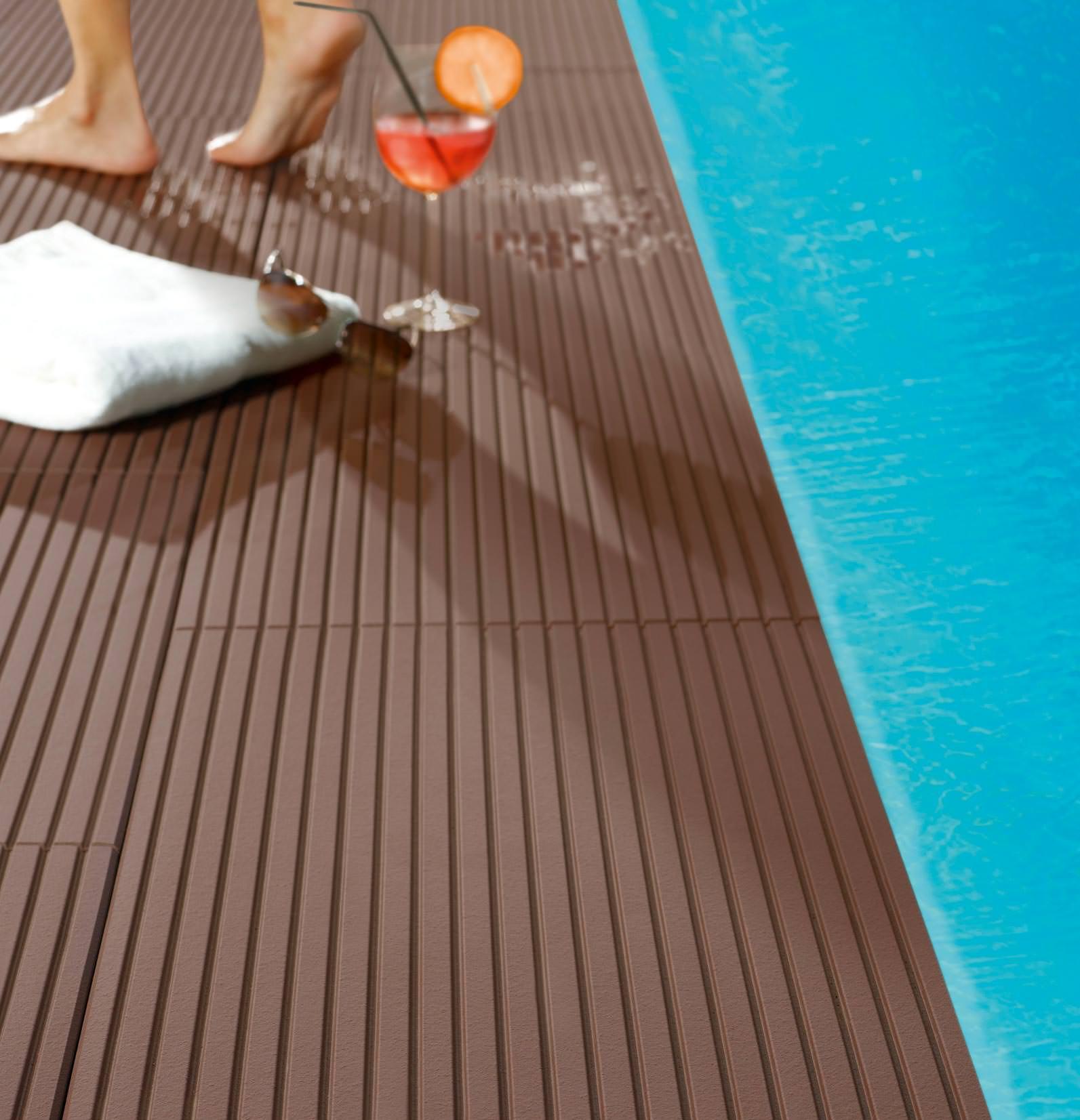 Terrassenplatten Mit Holz Ciltix = Sammlung von