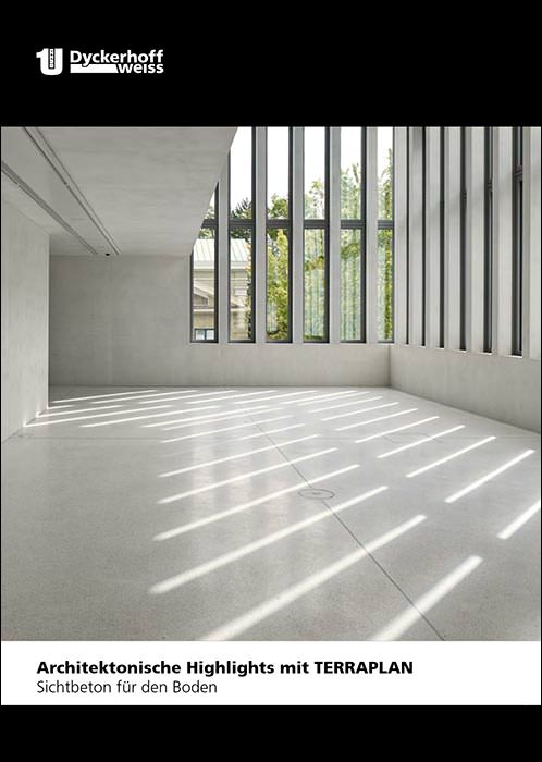 gestalterisch anspruchsvoller sichtbeton f r den boden auf 8 seiten. Black Bedroom Furniture Sets. Home Design Ideas