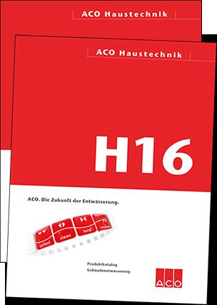 ACO-Kataloge H16 und D16