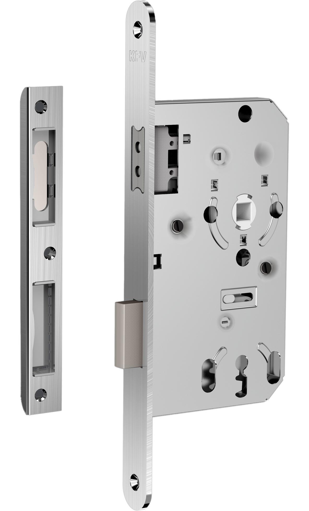 KFV-Magnetschloss 111 auch für gefälzte Innentüren aus Holz