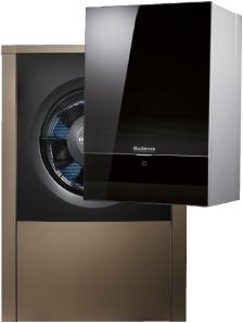 buderus 39 neues titanium design zieht bei den luft wasser w rmepumpen ein. Black Bedroom Furniture Sets. Home Design Ideas