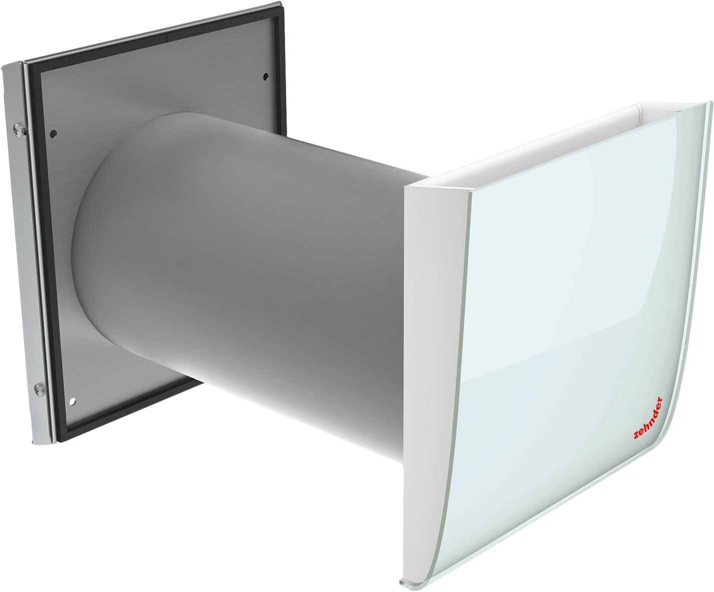 paarweise dezentrale l ftung la zehnder mit dem flur als berstr melement. Black Bedroom Furniture Sets. Home Design Ideas