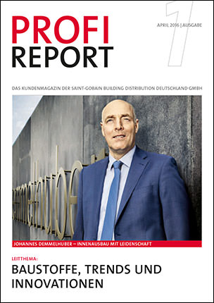 """Profireport"" der Saint-Gobain Building Distribution Deutschland (SGBDD)"