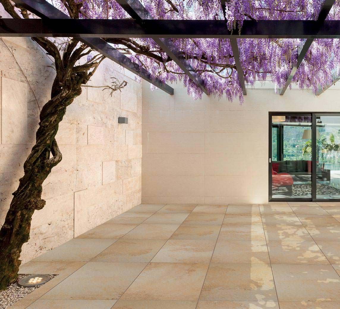 wetterfeste outdoor keramik im solnhofener naturstein look. Black Bedroom Furniture Sets. Home Design Ideas