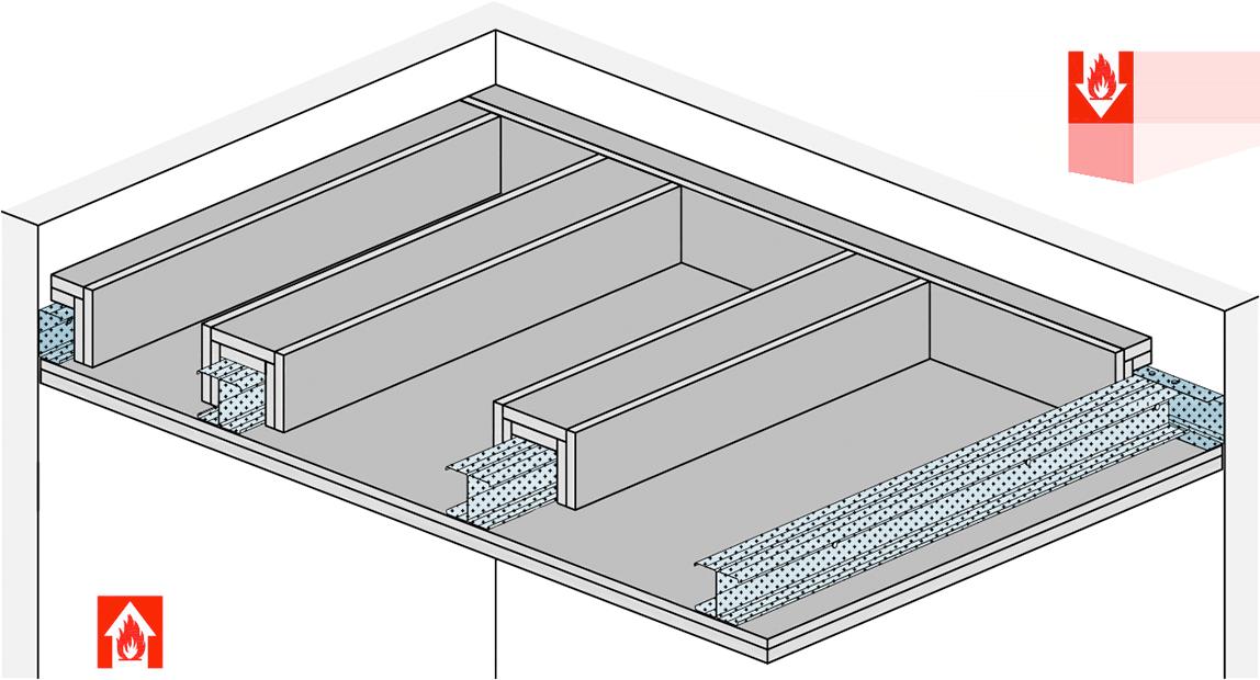 neues abp f r freitragende f 90 decke von rigips bis mm spannweite. Black Bedroom Furniture Sets. Home Design Ideas