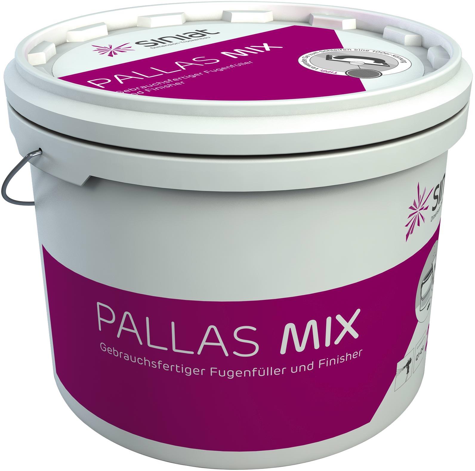 pallas mix: siniats universeller fertigspachtel jetzt im