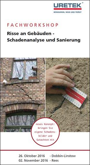 Seminar: Risse in Gebäuden - Schadenanalyse und Sanierungsansätze