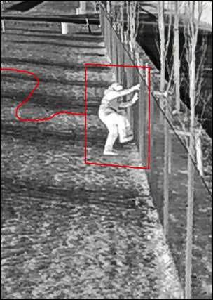 Videoanalyseanwendung Perimeter Defender
